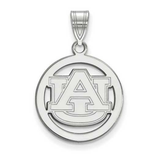 SS033AU: SS LogoArt Auburn Univ Medium Pendant in Circle