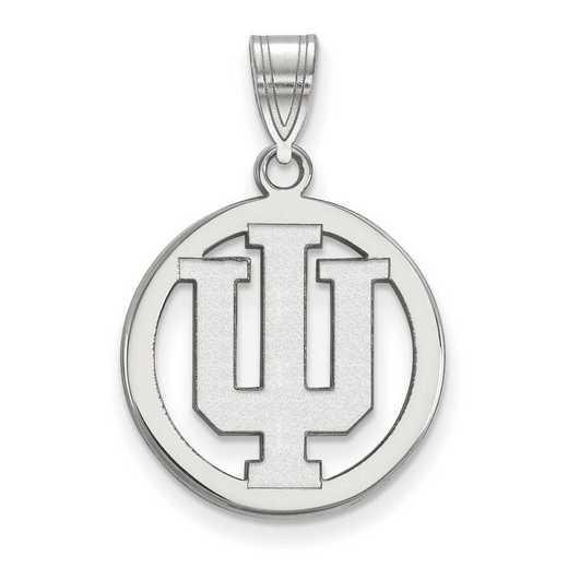 SS031IU: SS LogoArt Indiana Univ Med Pendant in Circle