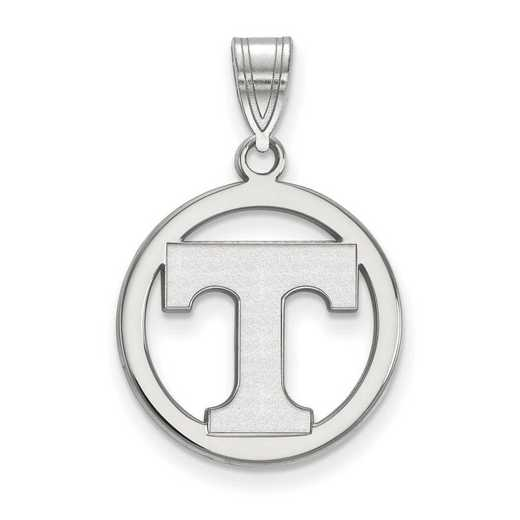 SS033UTN: SS LogoArt Univ of Tennessee Med Pendant in Circle