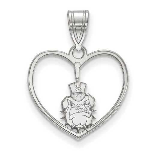 SS011TCI: SS LogoArt The Citadel Pendant in Heart