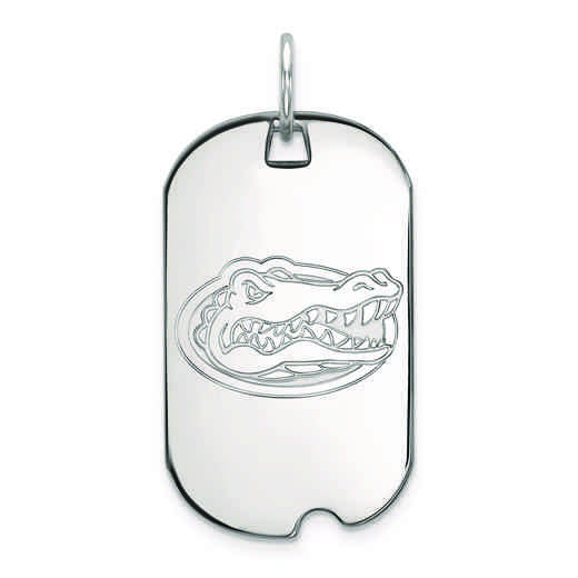 SS027UFL: SS LogoArt University of Florida Small Dog Tag