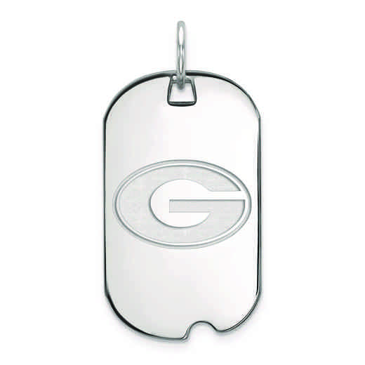 SS027UGA: SS LogoArt University of Georgia Small Dog Tag