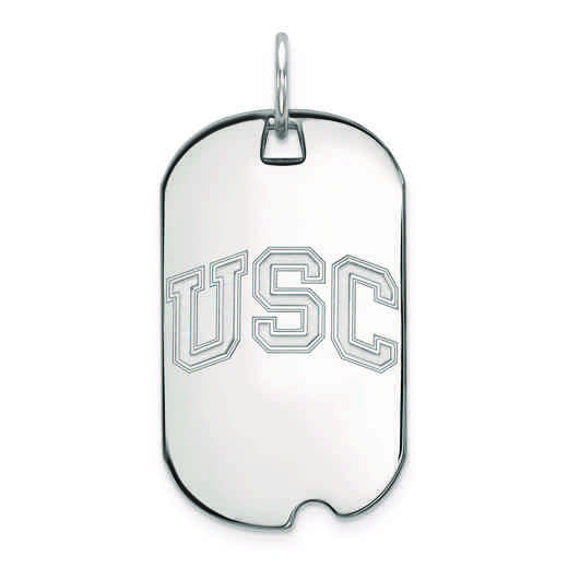 SS042USC: SS University of Southern California Small Dog Tag
