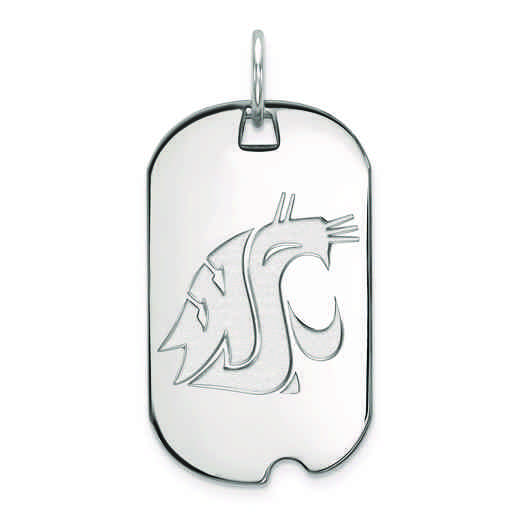 SS020WAS: SS LogoArt Washington State Small Dog Tag