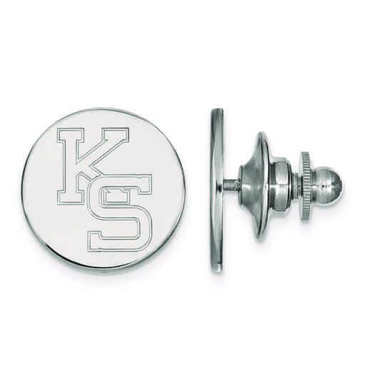 SS052KSU: SS LogoArt Kansas State University Lapel Pin