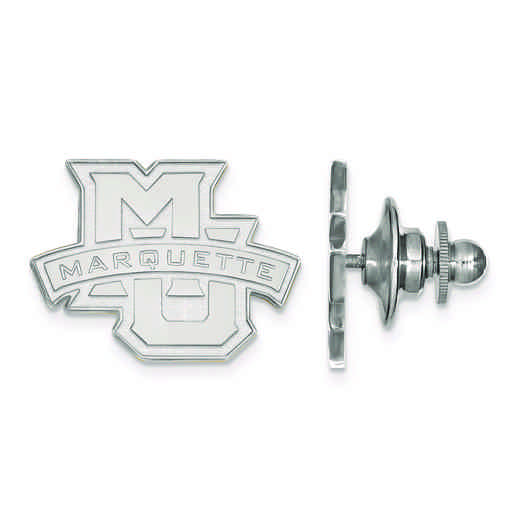 SS028MAR: SS LogoArt Marquette University Lapel Pin