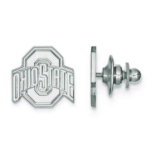 SS011OSU: SS LogoArt Ohio State University Lapel Pin
