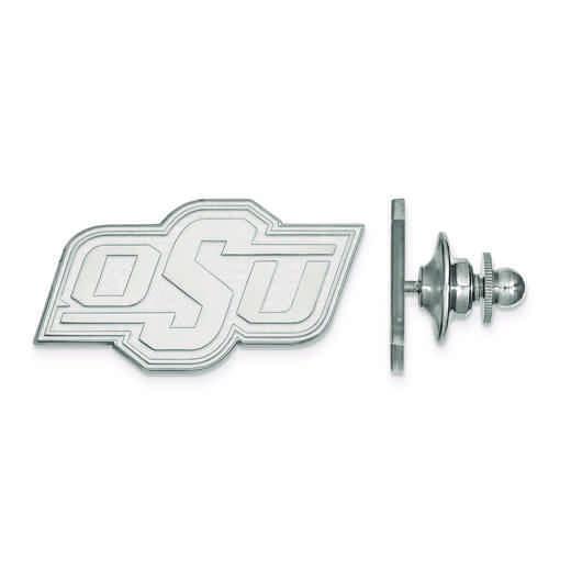 SS010OKS: SS LogoArt Oklahoma State University Lapel Pin