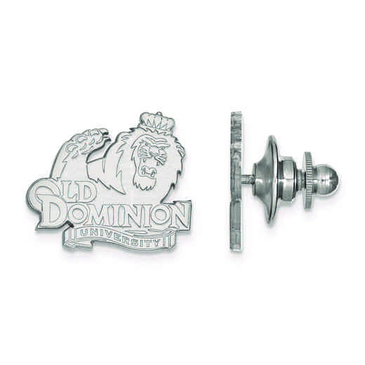 SS009ODU: SS LogoArt Old Dominion University Lapel Pin