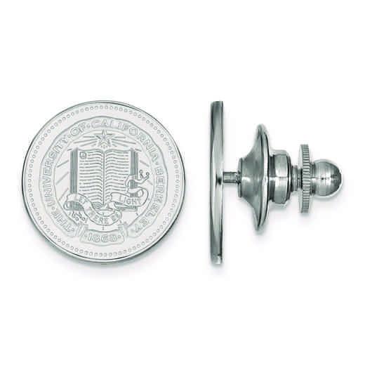 SS040UCB: SS LogoArt University of California Berkeley Crest Lapel Pin