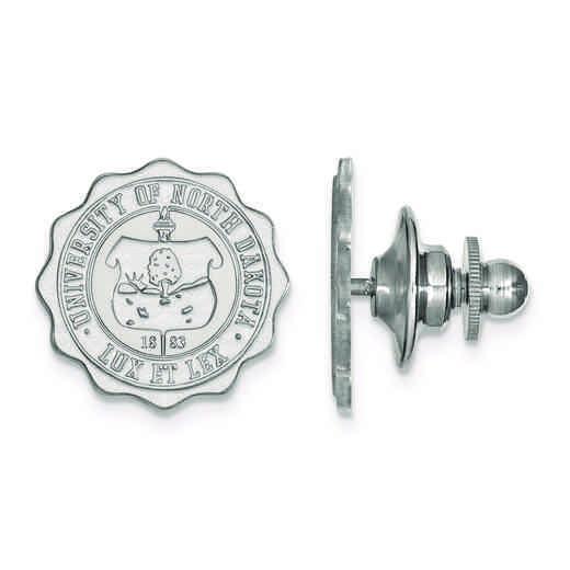 SS030UNOD: SS LogoArt University of North Dakota Crest Lapel Pin
