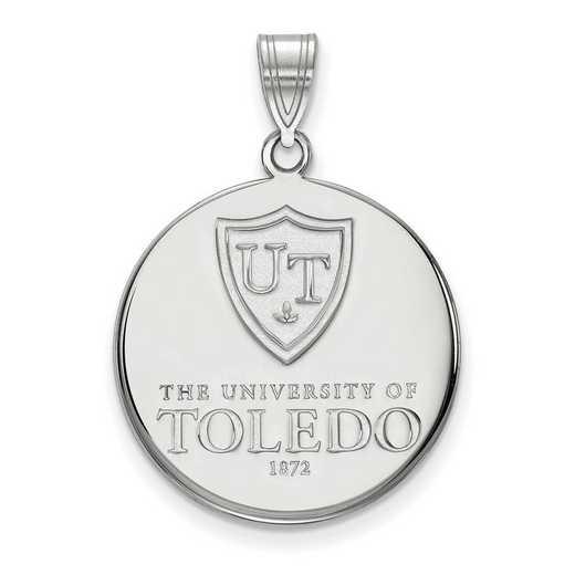 SS001UT: SS LogoArt Toledo LG Enamel Disc Pendant