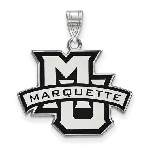 SS011MAR: SS LogoArt Marquette Univ LG Enamel Pendant