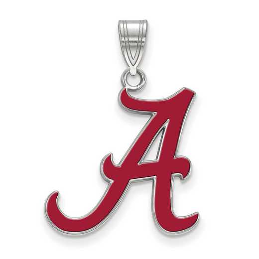 SS032UAL: SS LogoArt Univ of Alabama LG Enamel Pendant
