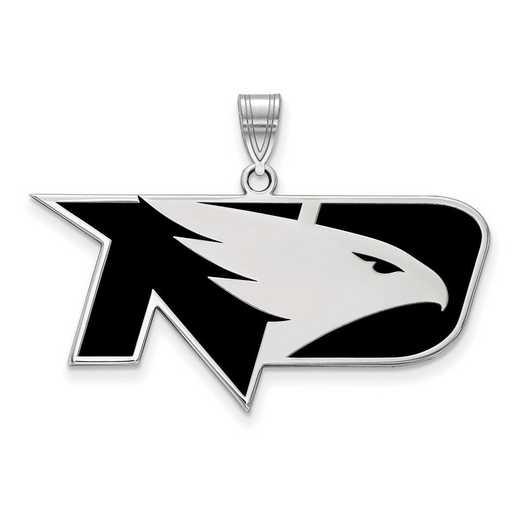 SS012UNOD: SS LogoArt Univ of North Dakota LG Enamel Pendant