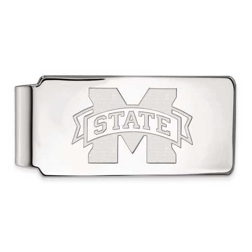 SS025MSS: SS LogoArt Mississippi State Univ Money Clip