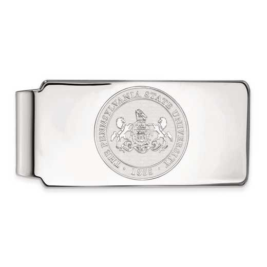 SS046PSU: SS LogoArt Penn State Univ Money Clip Crest