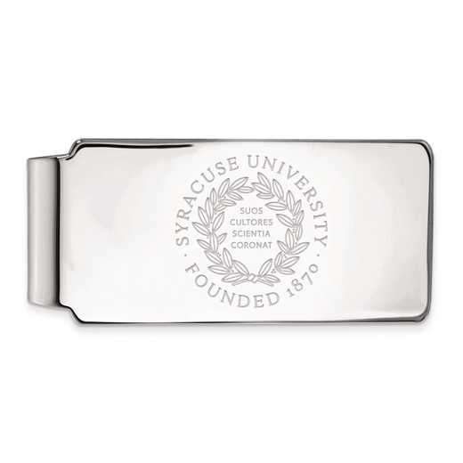 SS042SYU: SS LogoArt Syracuse Univ Money Clip Crest