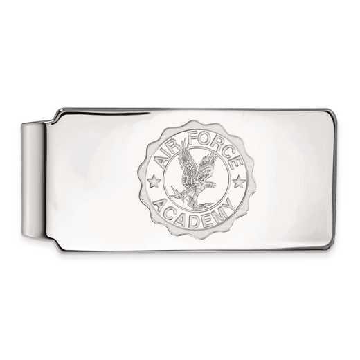 SS026USA: SS LogoArt United States Air Force Academy Crest Money Clip