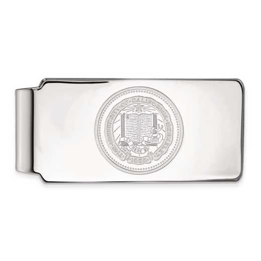 SS042UCB: SS LogoArt Univ of California Berkeley Money Clip