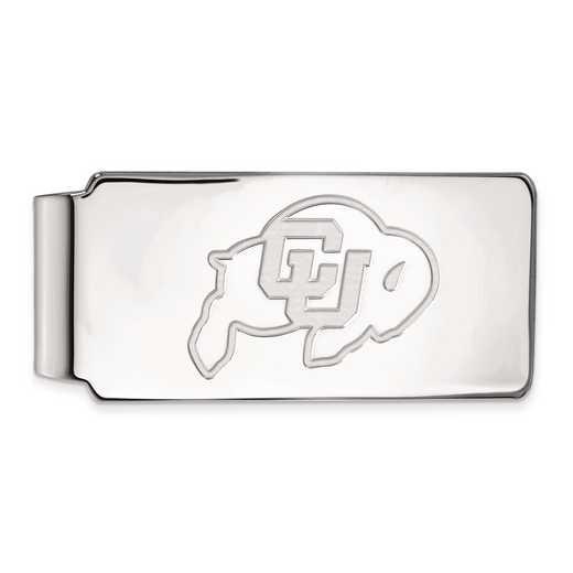 SS017UCO: SS LogoArt Univ of Colorado Money Clip