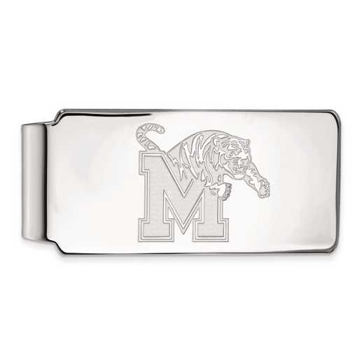 SS017UMP: SS LogoArt Univ of Memphis Money Clip