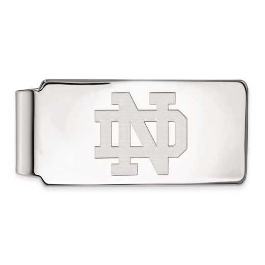 SS024UND: SS LogoArt Univ of Notre Dame Money Clip