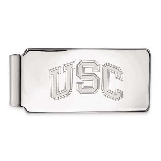 SS040USC: SS Univ of Southern California Money Clip
