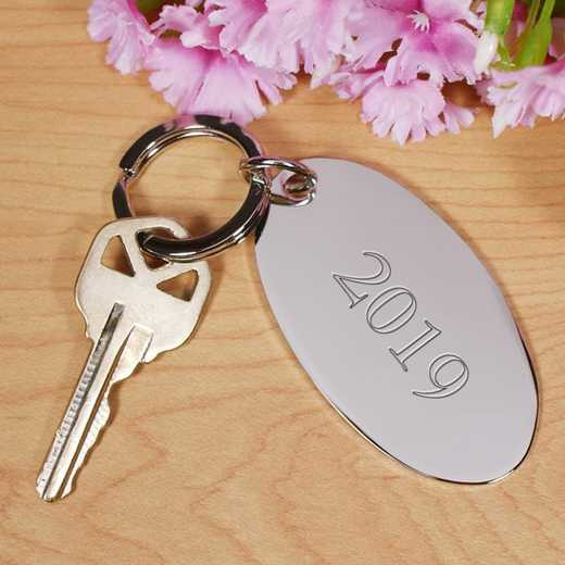 8531300block: PGS Name Silver Keychain, Block NAME