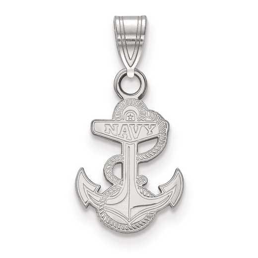 SS020USN: SS LogoArt Navy Small PEND
