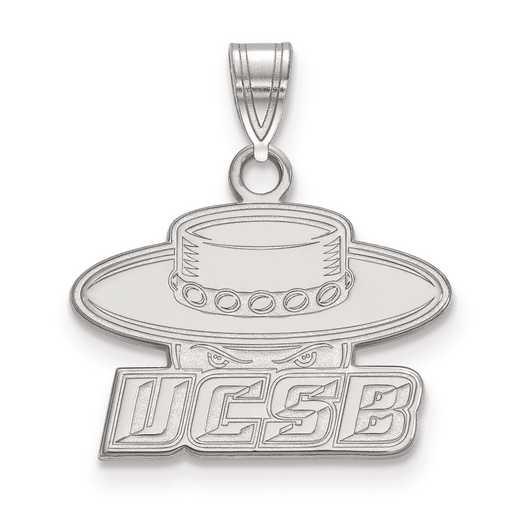 SS001UCSB: SS LogoArt University of California Santa Barbara Small Pend