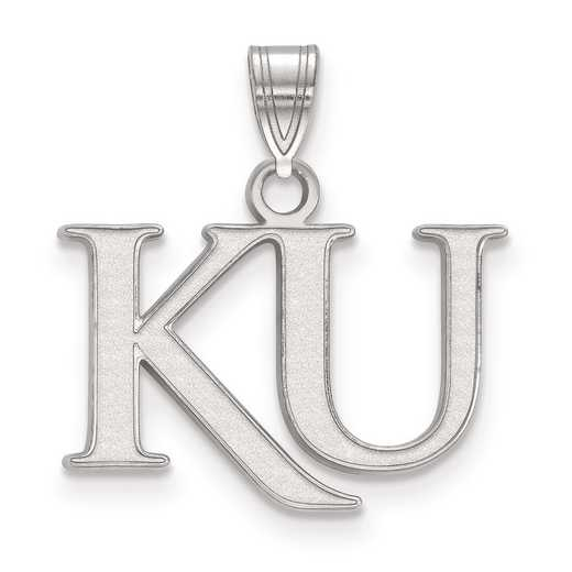 SS051UKS: SS LogoArt University of Kansas Small PEND