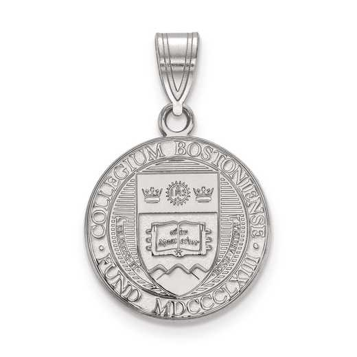 SS007BOC: S S LogoArt Boston College Medium Crest Pend