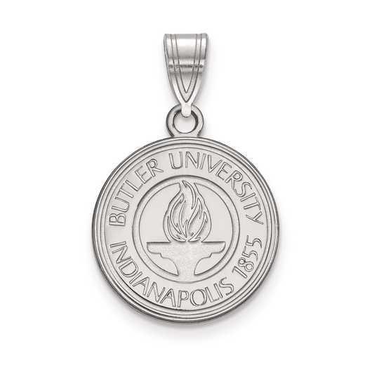SS007BUT: S S LogoArt Butler University Medium Crest Pend