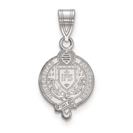 SS007FOU: S S LogoArt Fordham University Medium Crest Pend