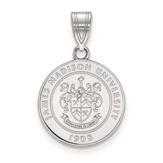 SS014JMU: S S LogoArt James Madison University Medium Crest Pend