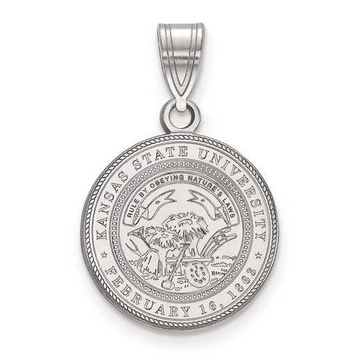SS060KSU: S S LogoArt Kansas State University Medium Crest Pend