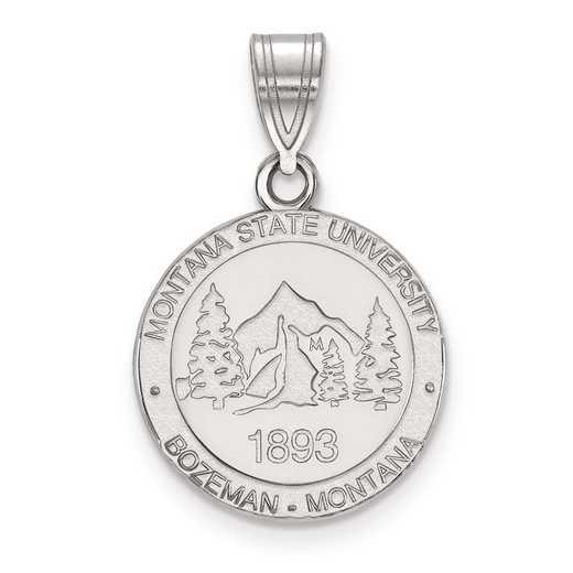 SS025MTU: S S LogoArt Montana State University Medium Crest Pend