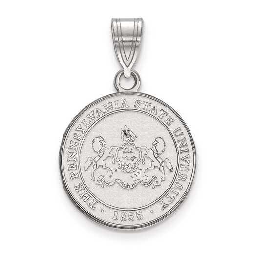 SS042PSU: S S LogoArt Penn State University Medium Crest Pend