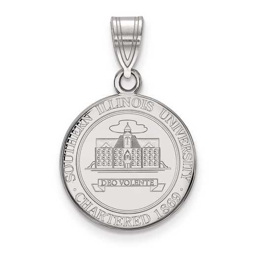 SS020SIU: S S LogoArt Southern Illinois University Medium Crest Pend