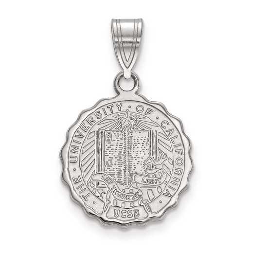 SS005UCSB: S S LogoArt U of California Santa Barbara Medium Crest Pend