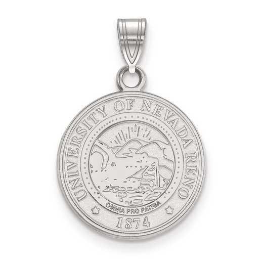 SS007UNR: S S LogoArt University of Nevada Medium Crest Pend