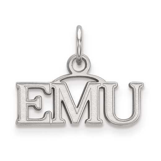 SS013EMU: SS LogoArt Eastern Michigan University XS Pendant