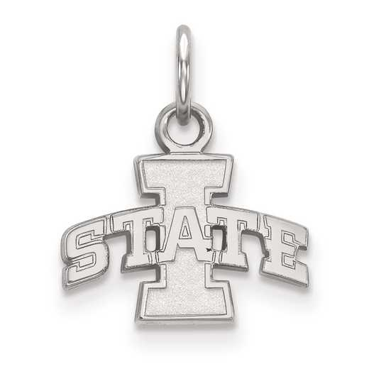 SS001IAS: SS LogoArt Iowa State University XS Pendant
