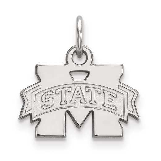 SS001MSS: SS LogoArt Mississippi State University XS Pendant