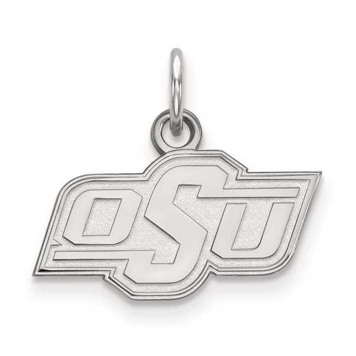 SS001OKS: SS LogoArt Oklahoma State University XS Pendant