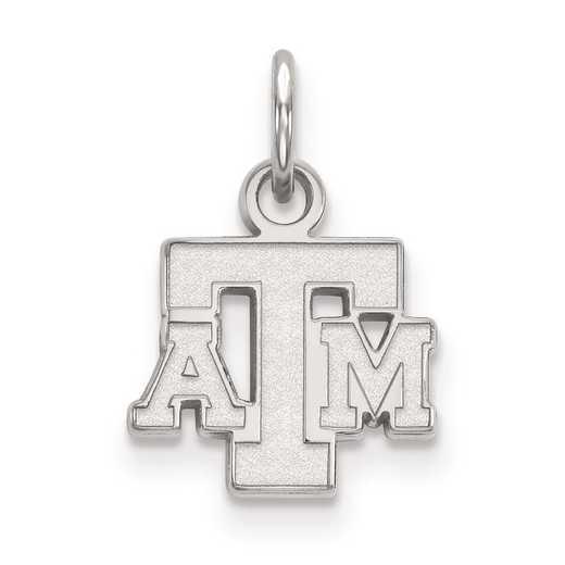 SS054TAM: SS LogoArt Texas A&M University XS Pendant