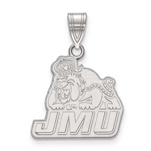 SS003JMU: SS LogoArt James Madison University Medium PEND