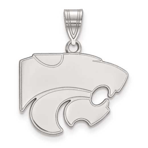 SS003KSU: SS LogoArt Kansas State University Medium PEND