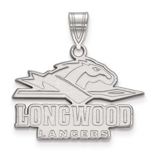SS002LOC: SS LogoArt Longwood University Medium PEND